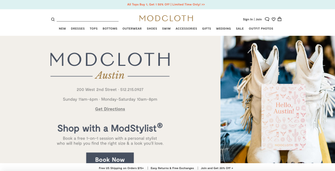0ae505ed7486cb Walmart touted how the deal will help current ModCloth designers reach a  larger customer base