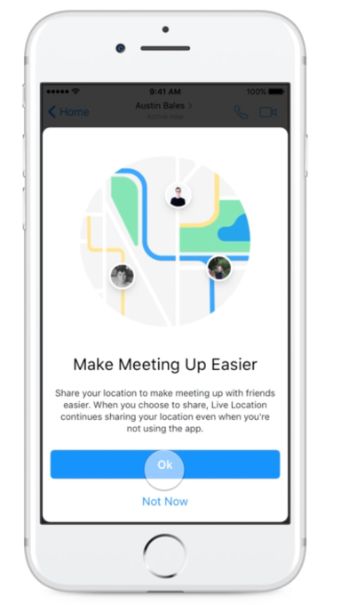 Facebook Messenger Now Lets You Privately Share Your Live Location For An Hour Techcrunch It is warm and very comfortable. facebook messenger now lets you