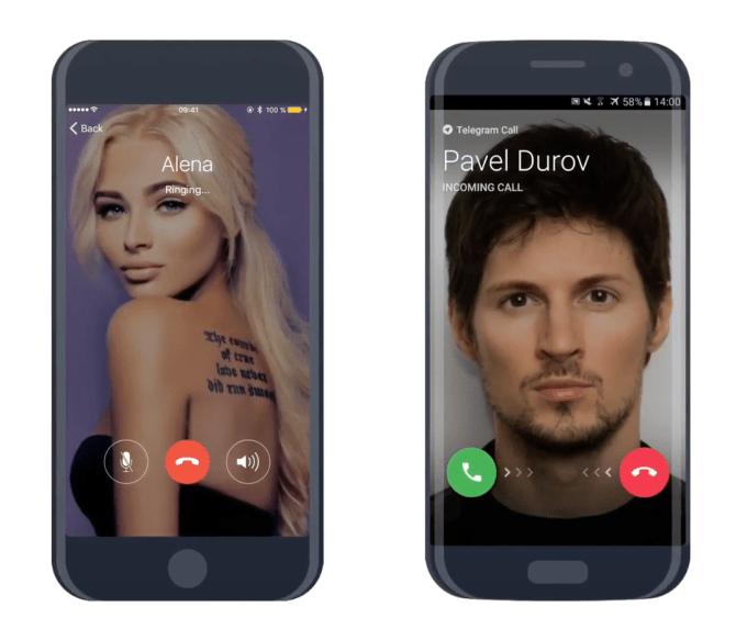 Telegram introduces voice calls, touting end-to-end encryption