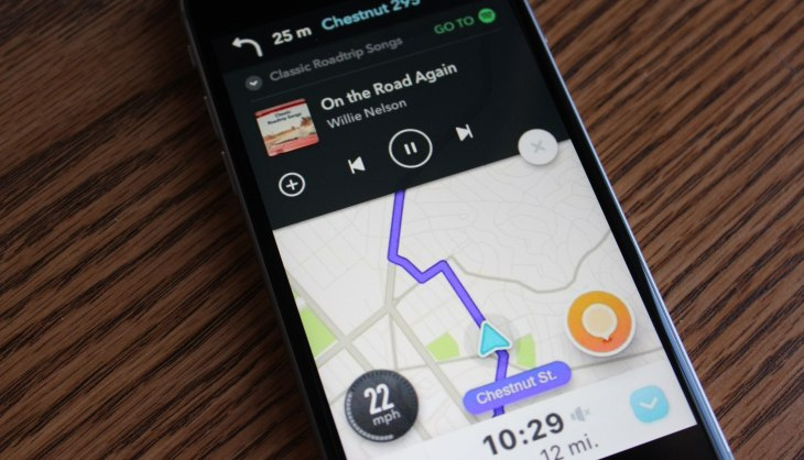 Spotify and Waze partner to play music and navigate