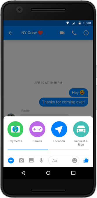 Facebook Messenger now supports group payments | TechCrunch