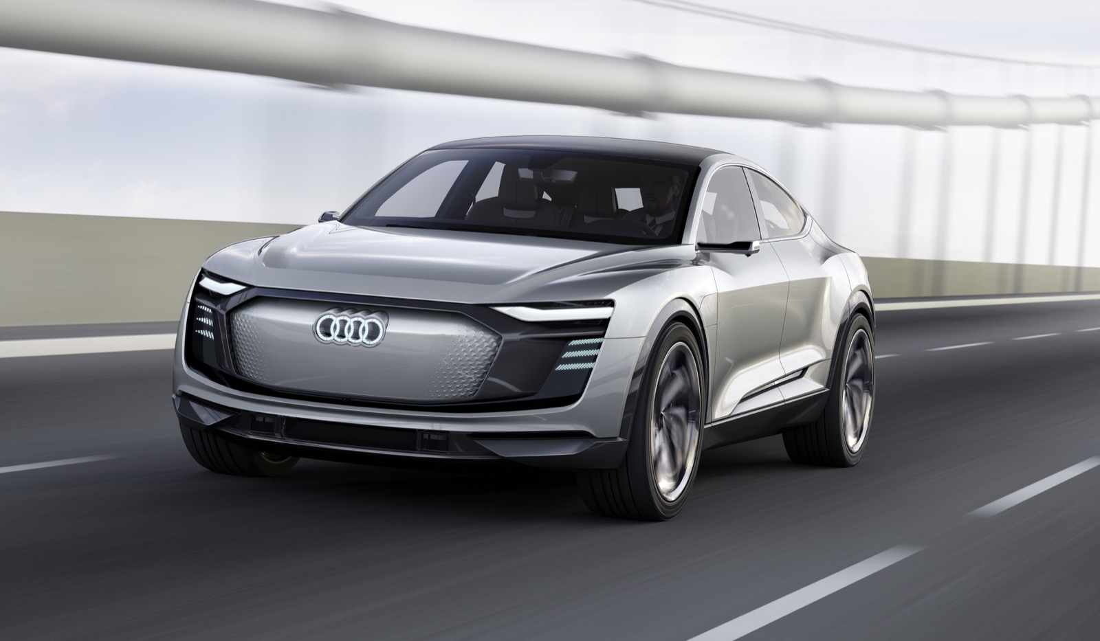 Audi E Tron Sportback Concept Techcrunch
