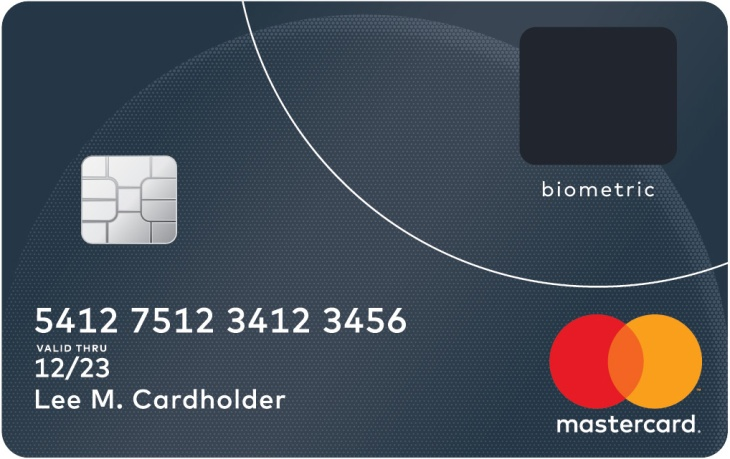mastercard trials biometric bankcard with embedded fingerprint