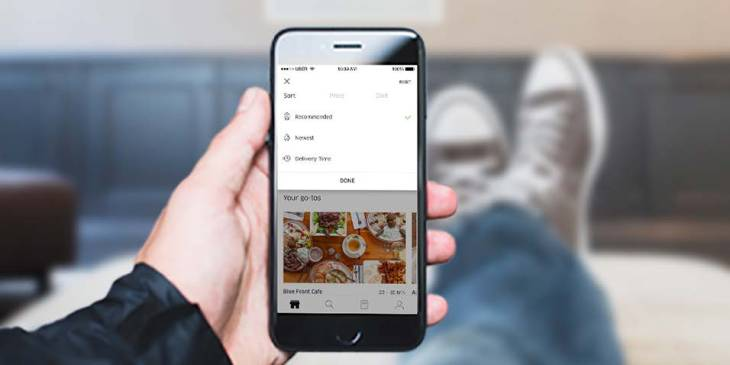 UberEATS gets custom suggestions, food filters, and drop-off