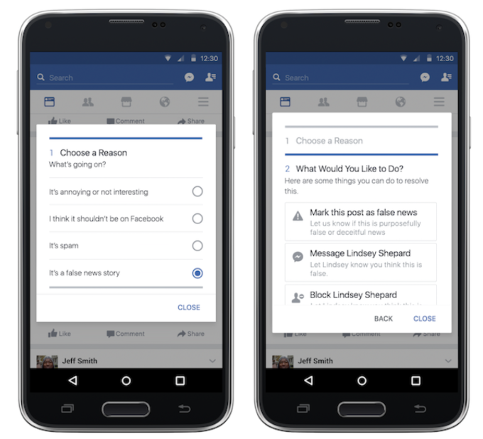 Facebook assigns you a fake news flagging trustworthiness score