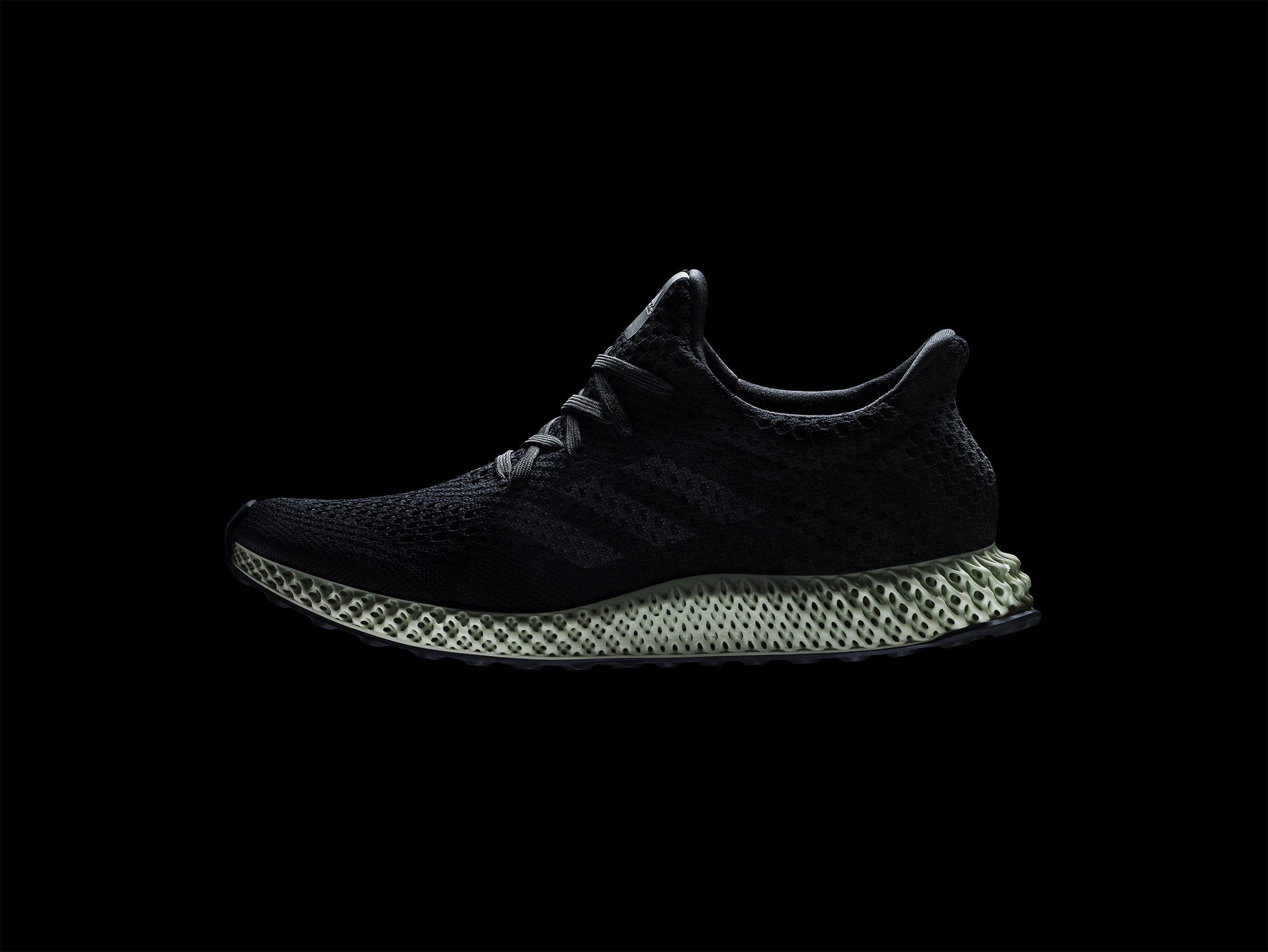 FUTURECRAFT4D_PRODUCT_HERO_BLACK. Adidas unveiled their latest 3D-printed  shoe ...