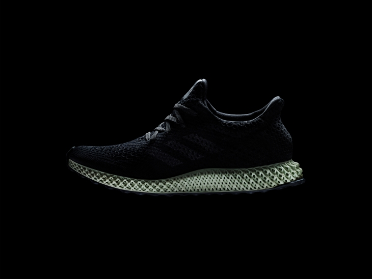 3267cb6a07fb FUTURECRAFT4D PRODUCT HERO BLACK. Adidas unveiled their latest 3D-printed  shoe ...