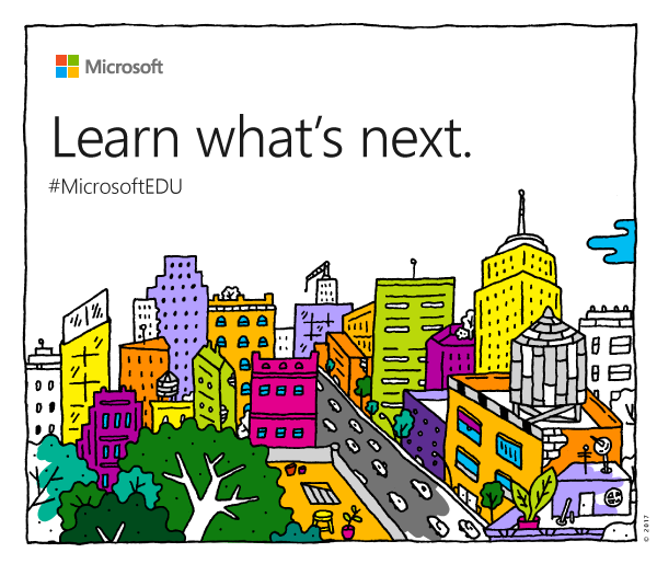 microsoft is holding a big education event in new york on may 2