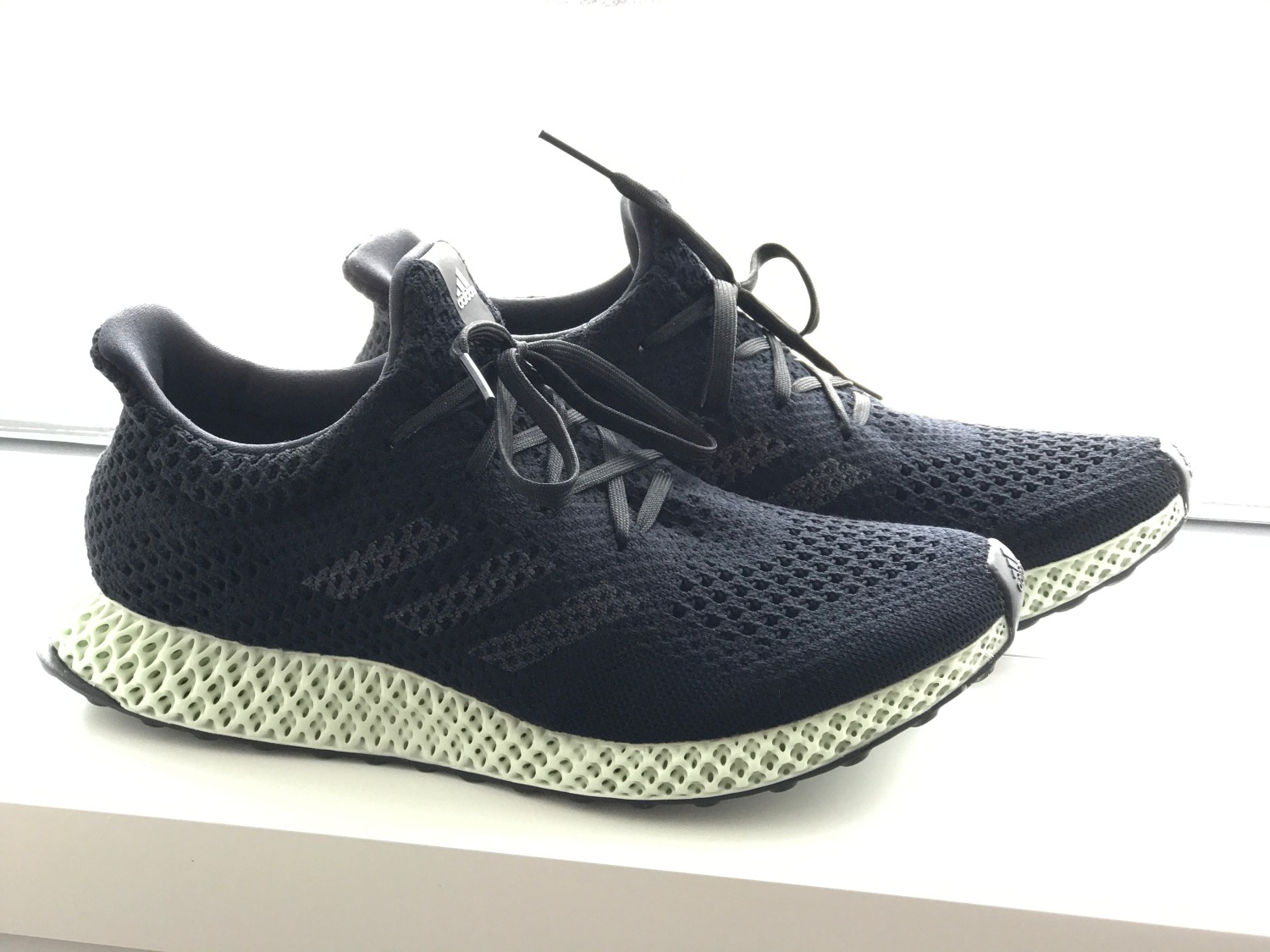 6d183de84db3 Adidas  latest 3D-printed shoe puts mass production within sight ...
