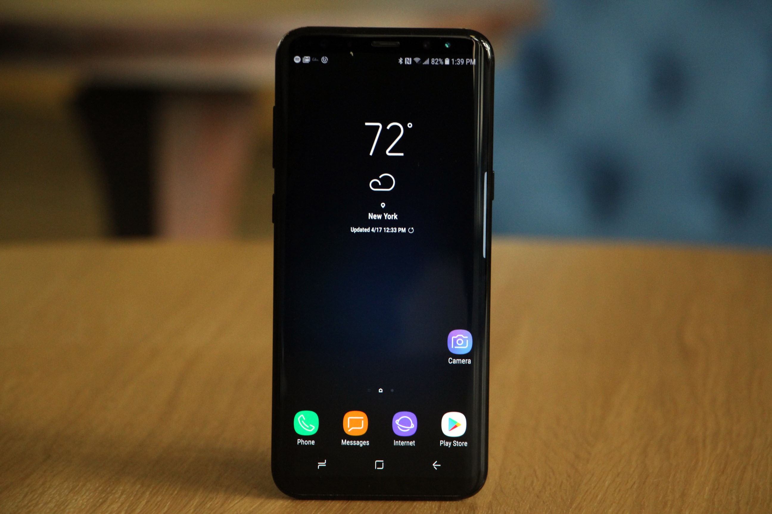 galaxy s8 read text messages