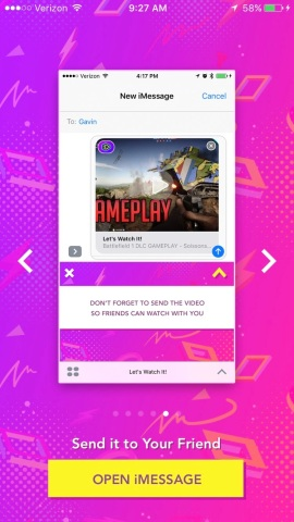 Let's Watch It! allows friends to watch & react to videos