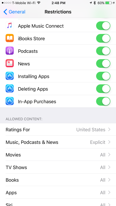 Tumblr just added a switch in the iOS Settings that lets you turn