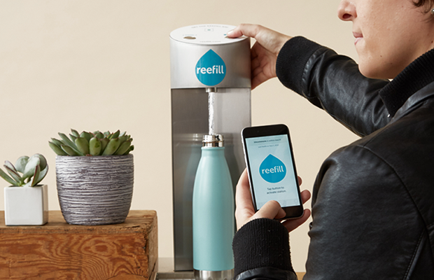 Reefill wants you to drink more tap water | TechCrunch