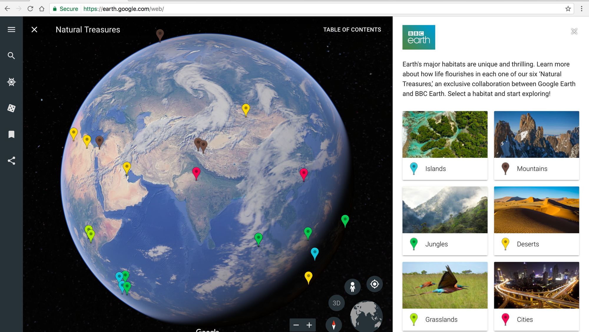 Google earth for chrome android gets upgraded with guided tours google earth for chrome android gets upgraded with guided tours more discovery features techcrunch gumiabroncs Gallery