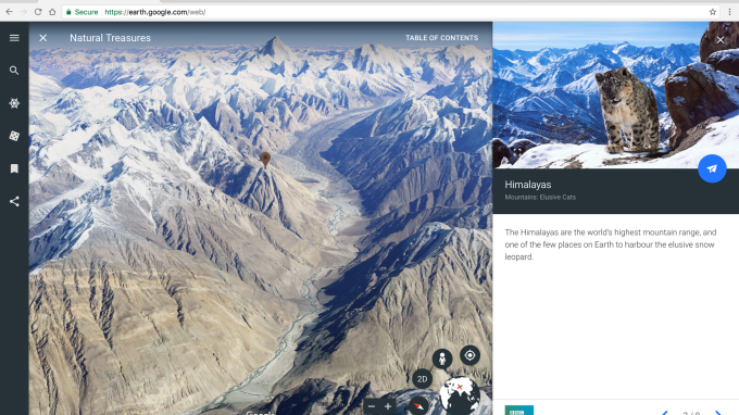 Google Earth for Chrome & Android gets upgraded with guided