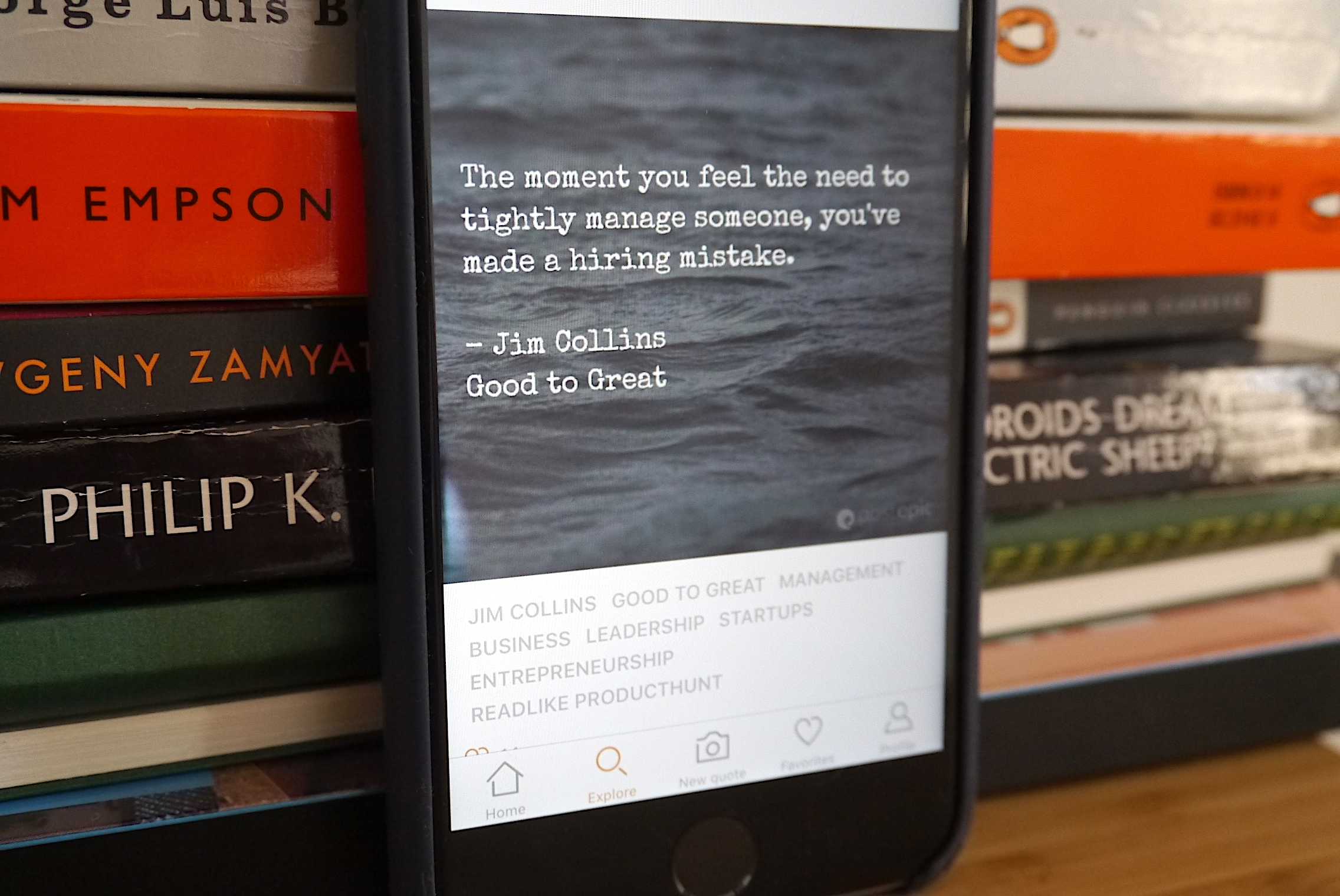 Image of: Android Turns Basic Idea Into An App That Has Enough Form And Function To Feel Appealing To Use The Core Additional Feature Is Optical Character Recognition Techcrunch Postepic Is An App For Elegantly Sharing Book Quotes Techcrunch