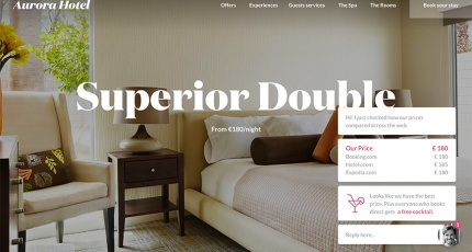 Triptease, a London startup that helps hotels increase