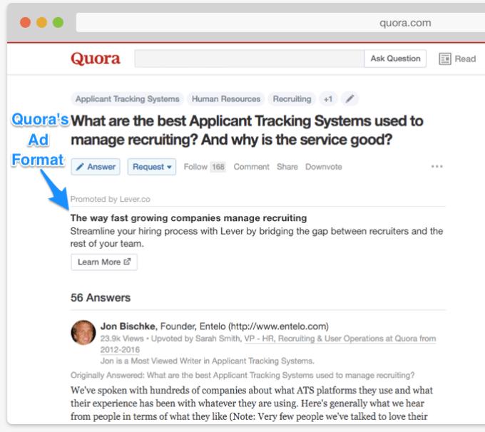 Q&A app Quora valued around $1 8 billion in $85 million