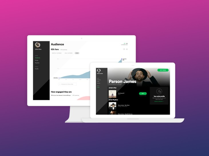 Spotify's artist dashboard exits beta, offering streaming