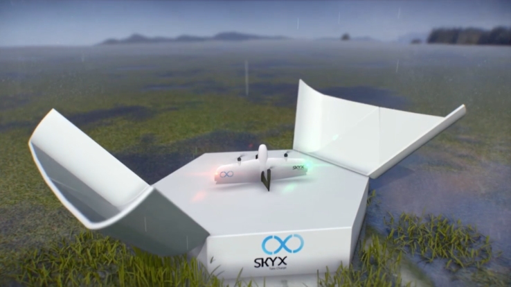 SkyX drones are half-helicopter, half-plane and built to fly