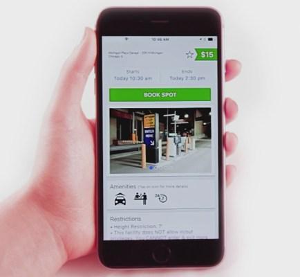 On-demand parking startup SpotHero raises $50 million