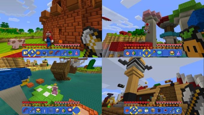 Minecraft arrives on the Nintendo Switch | TechCrunch