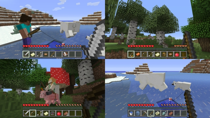 Minecraft Arrives On The Nintendo Switch TechCrunch - Skins fur minecraft wii u