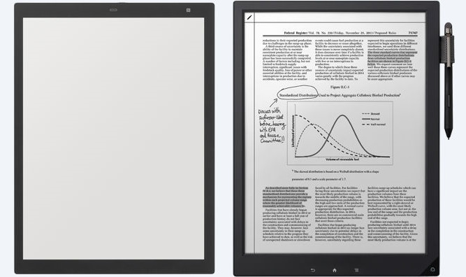 sony and remarkable s dueling e paper tablets are strange but