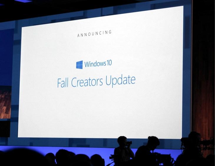Microsoft announces the Fall Creators Update, the next major