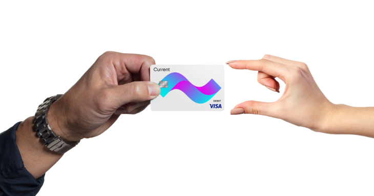 current launches a visa debit card for kids that parents control