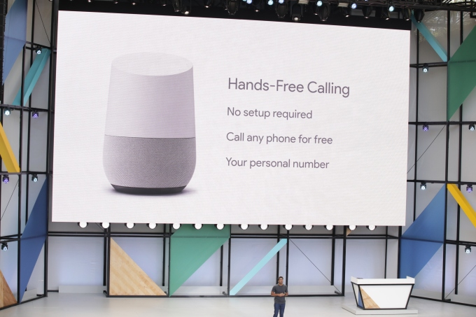 Google brings hands-free calling, proactive alerts to Home | TechCrunch