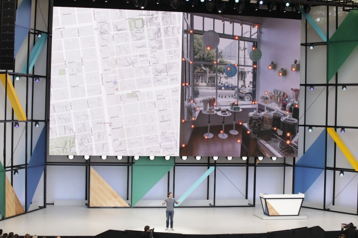Google has an indoor positioning tech in the works, called