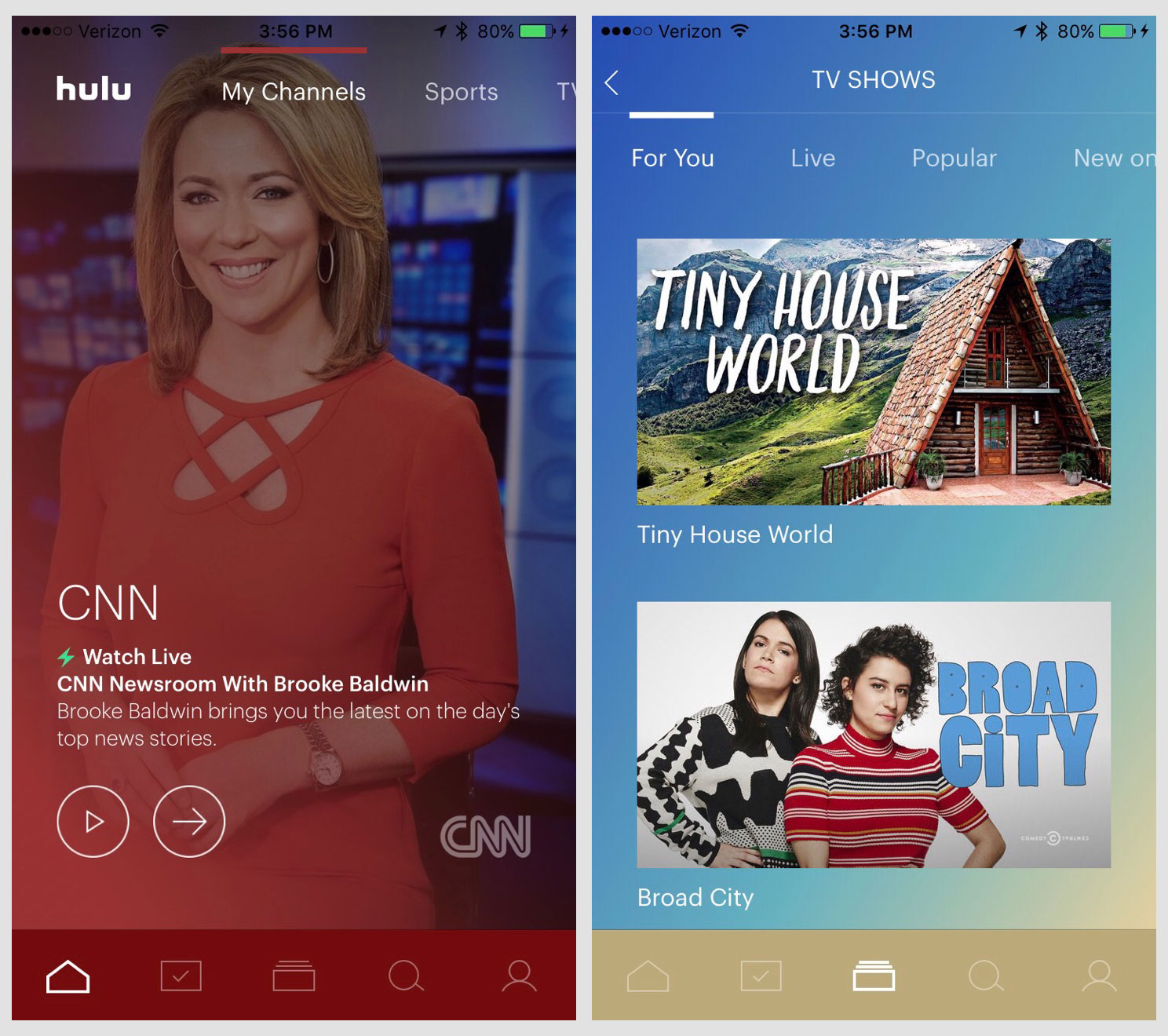 Hands-on with Hulu's new Live TV service   TechCrunch