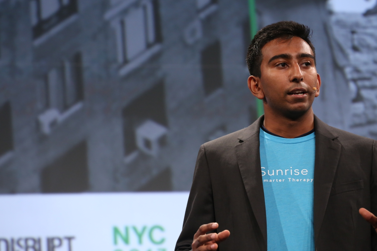 Sunrise Health presents at Startup Battlefield at TechCrunch Disrupt NY 2017