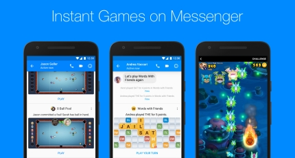 Facebook Messenger rolls out Instant Games worldwide