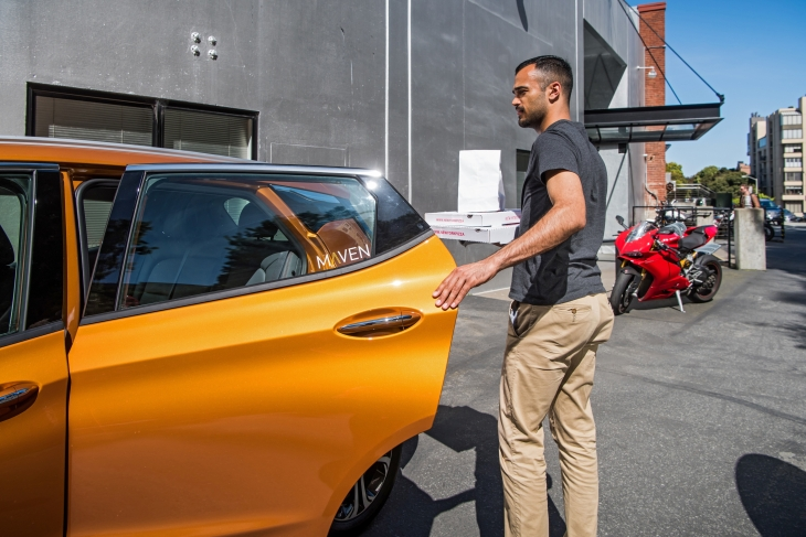 GM's Maven Gig is a car sharing service tailor-made for the