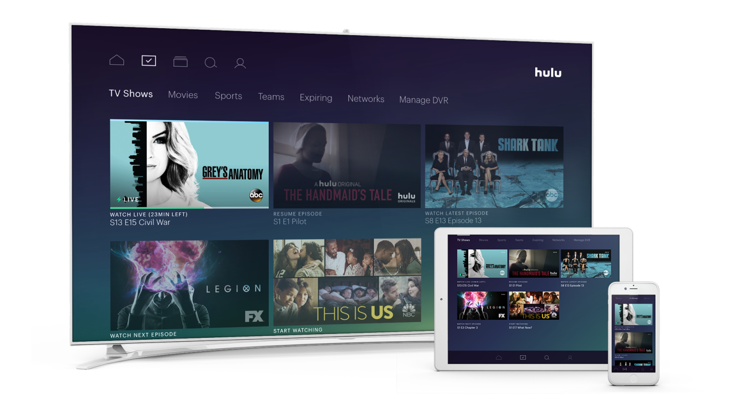 Hands On With Hulus New Live Tv Service Techcrunch
