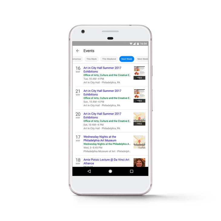 Google Search will now help you find nearby events | TechCrunch