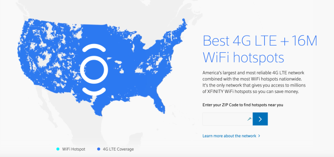 Comcast internet offers and packages are availability across most the USA, covering million people in 39 states including California, Florida, Illinois, and 36 other states. This huge coverage area makes Xfinity the largest cable Internet provider in the US.