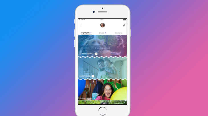 Skype's Snapchat-inspired makeover puts the camera a swipe away