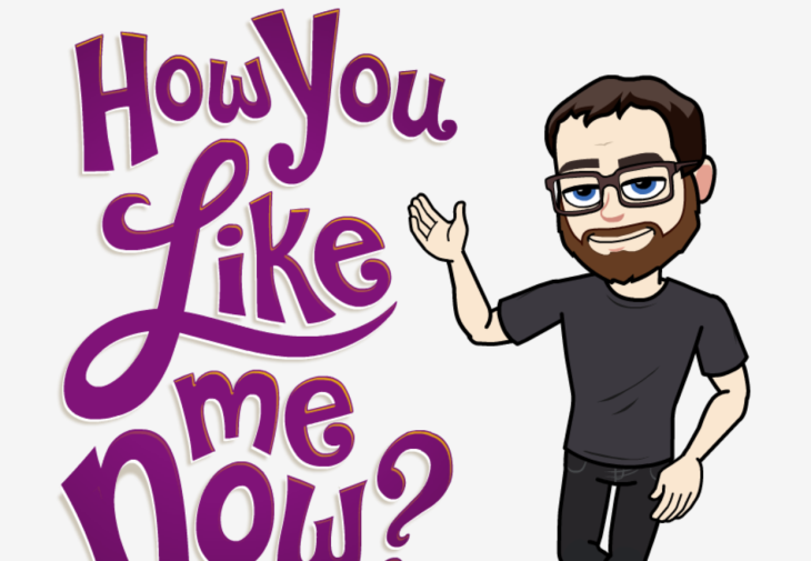 snapchat s bitmoji get changing expressions and snapcode placement