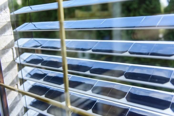 solar blinds powered solargaps window panel