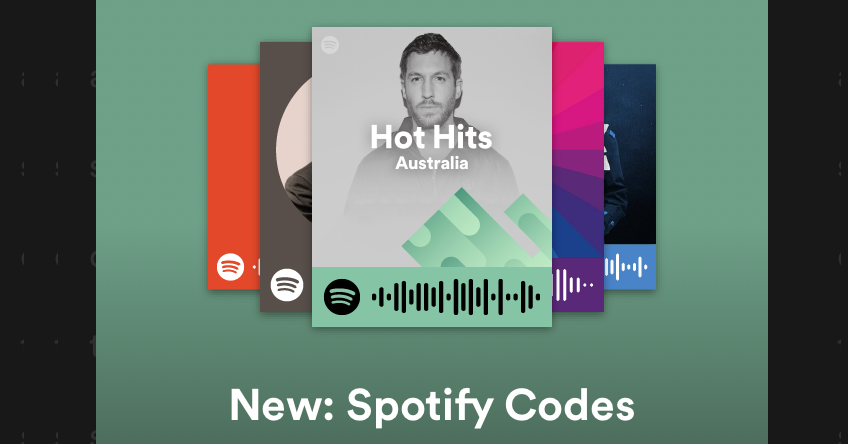 Scan these new QR-style Spotify Codes to instantly play a