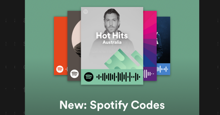 Spotify Codes to instantly play a song