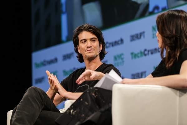 Daily Crunch: WeWork CEO steps down