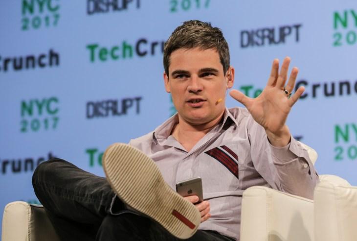 Mario Schlosser (Oscar Health) at TechCrunch Disrupt NY 2017