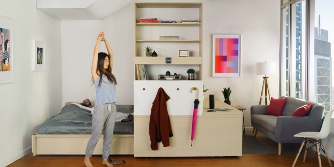 Ori Systems Brings The Robotic Furniture Of Future To Apartments Today Techcrunch
