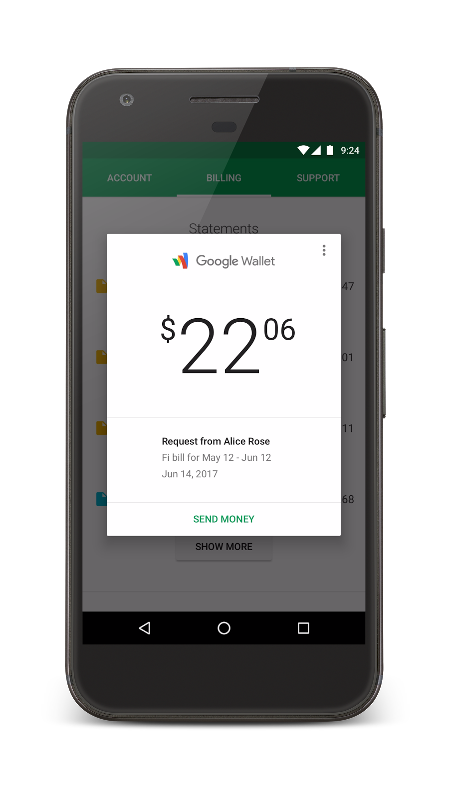 Google makes splitting the cost of Project Fi group plans easier