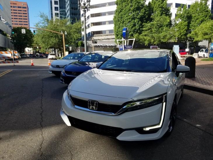 Honda Clarity Times Three