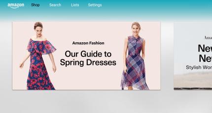 Amazon Brings Its Big Screen Shopping App To Fire Tv Techcrunch